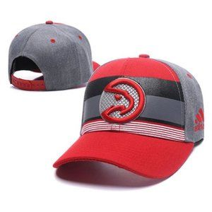 Atlanta Hawks Snapback Hat Adjustable Cap